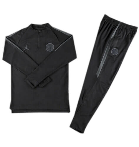Training Top+Pantalon PSG Jordan x Noir 2018 2019