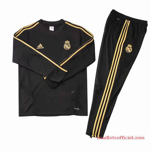 Training Top Pantalon Real Madrid 2019/2020 Noir