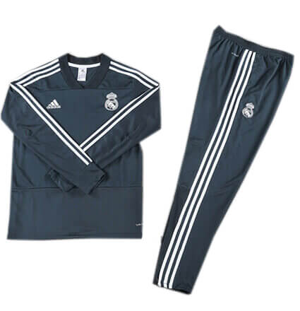 Training Top+Pantalon Real Madrid Bleu 2018 2019