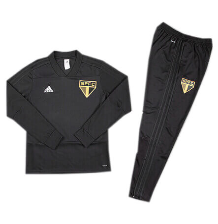 Training Top+Pantalon Sao Paulo Noir 2018 2019