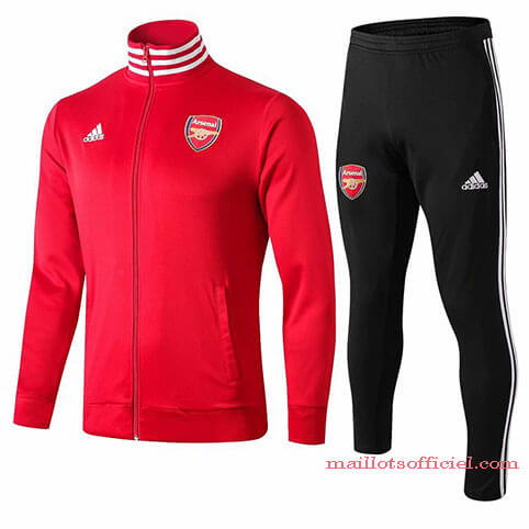 Veste + Pantalon Arsenal 2019/20 Rouge Noir