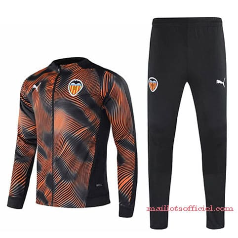 Veste + Pantalon Valencia 2020/2021 ORANGE Noir