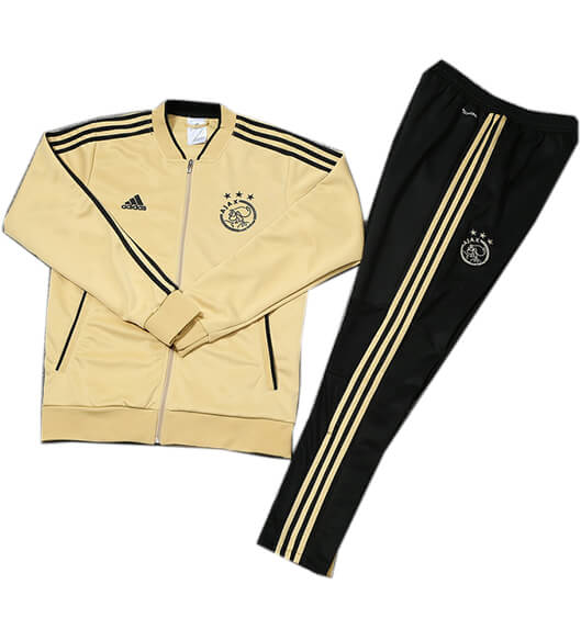 Veste Foot Ajax 2018/2019 Kit Jaune Noir