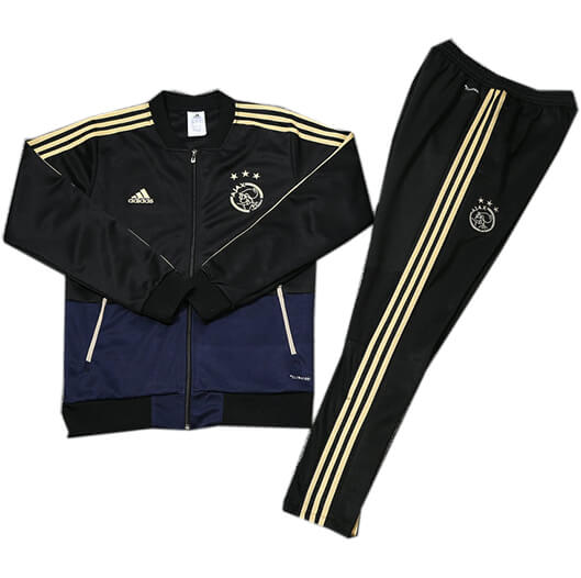 Veste Foot Ajax 2018/2019 Kit Noir