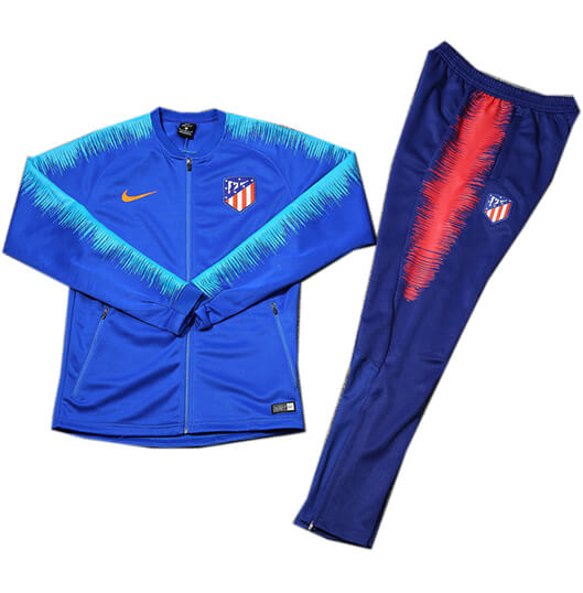 Veste Foot Atlético Madrid 2018/19 Kit Bleu