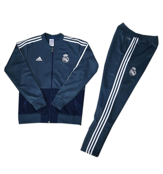 Veste Foot Real Madrid 2018/19 Kit Bleu