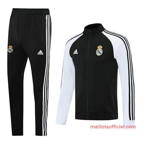 Veste + Pantalon Real Madrid 2020/2021 Blanc Noir