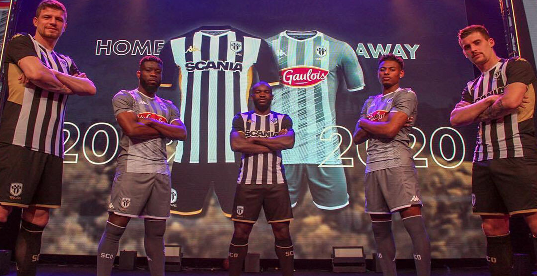 Maillot Angers SCO 2020 2021