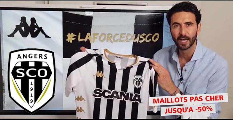 Maillot Angers SCO 2022 pas cher