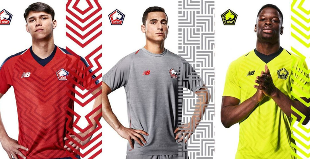 huge discount first look wholesale dealer Maillot LOSC 2019 2020 Pas Cher | Maillotsofficiel