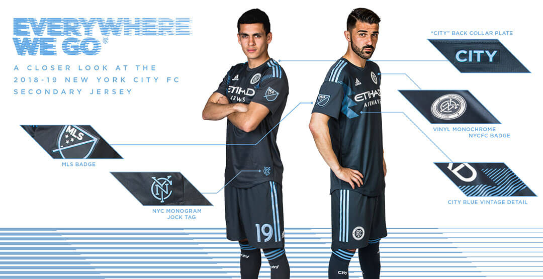 Maillot De Foot New York City Pas Cher