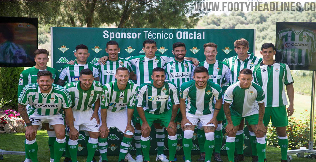 Maillot De Foot Real Betis Pas Cher