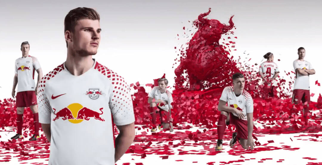 Maillot De Foot Red Bull Pas Cher