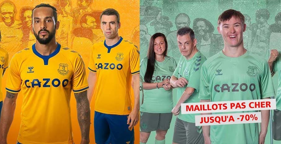 Maillot Everton 2022 pas cher