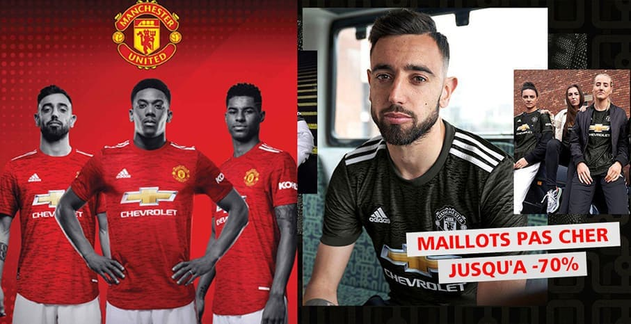 Maillot Manchester United 2022 pas cher