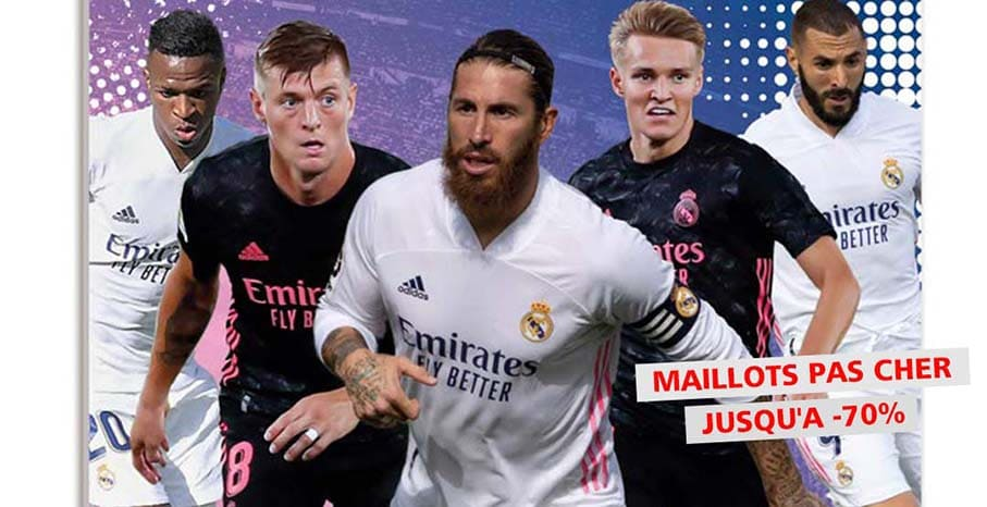 Maillot Real Madrid 2022 pas cher