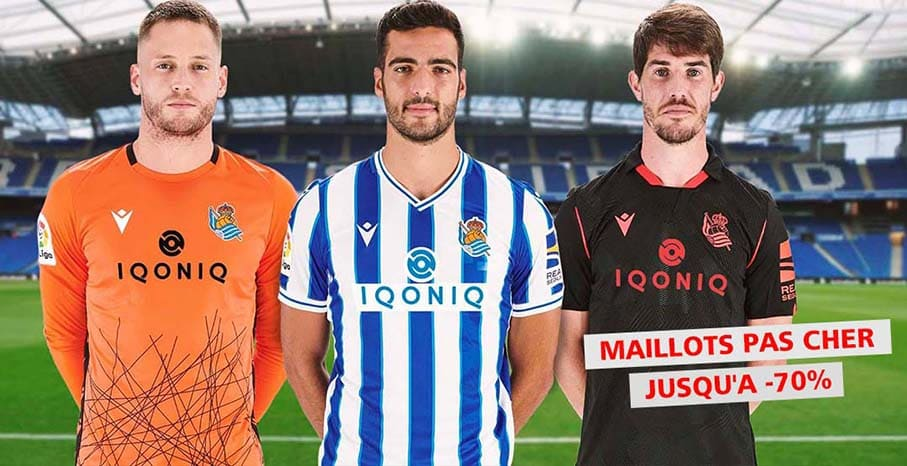 Maillot Real Sociedad 2022 pas cher