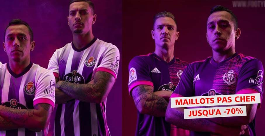 Maillot Real Valladolid 2022 pas cher